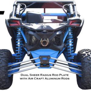X3 Dual Shear Radius Rod Plate