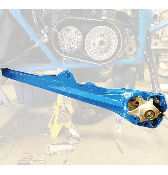 Can Am Maverick X3 Rear Trailing Arm Gusset Kit