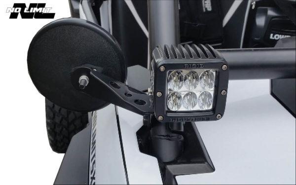 Polaris RzR Side Mirror Bracket Kit